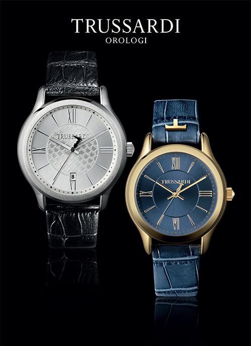 H TRUSSARDI OROLOGI μετά την επιτυχία στα Swiss Made ρολόγια της  παρουσιάζει και τη fashion σειρά Τ First από 179-250 € 481eb05e058