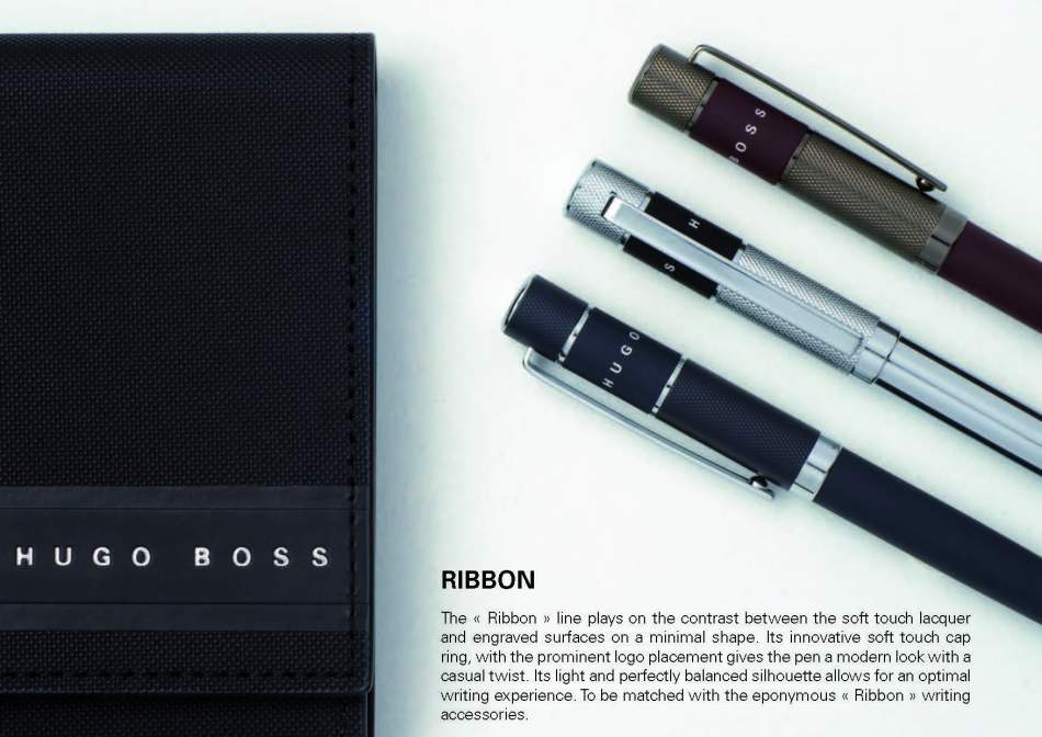hugo boss ribbon